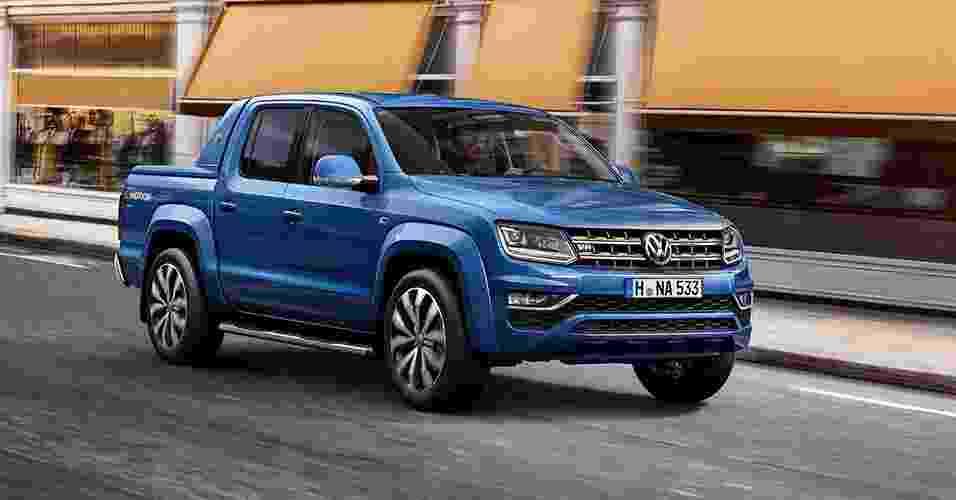Volkswagen Amarok 2017 europeia - Divulgação