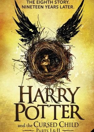 """Capa de """"Harry Potter and the Cursed Child"""" - Reprodução"""