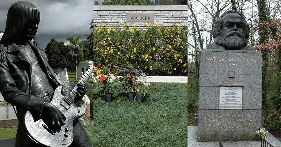 Pode parecer mórbido, mas há diversos cemitérios ao redor do mundo que são atração turística - Arte/UOL
