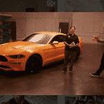 Ford Mustang GT 2018 - Reprodução/Instagram