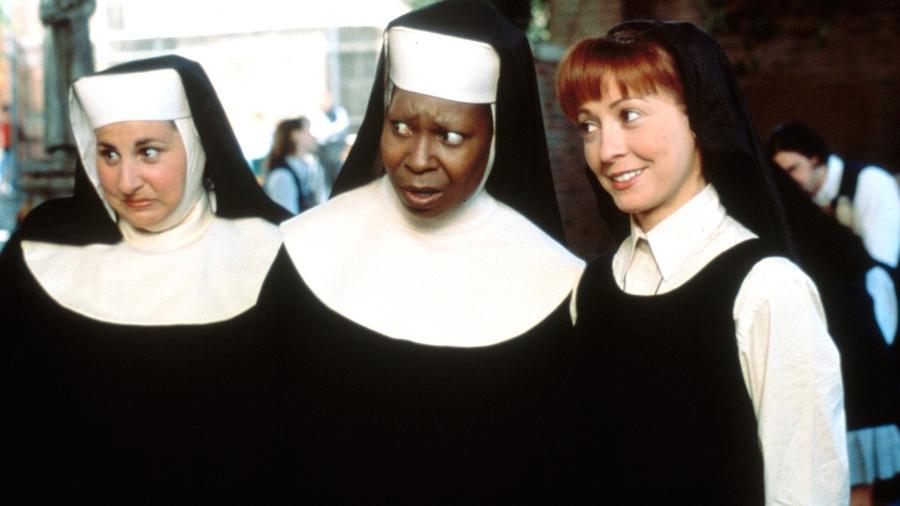 """Cena do filme """"Mudança de Hábito"""" (1992), de Emile Ardolino - Reprodução"""