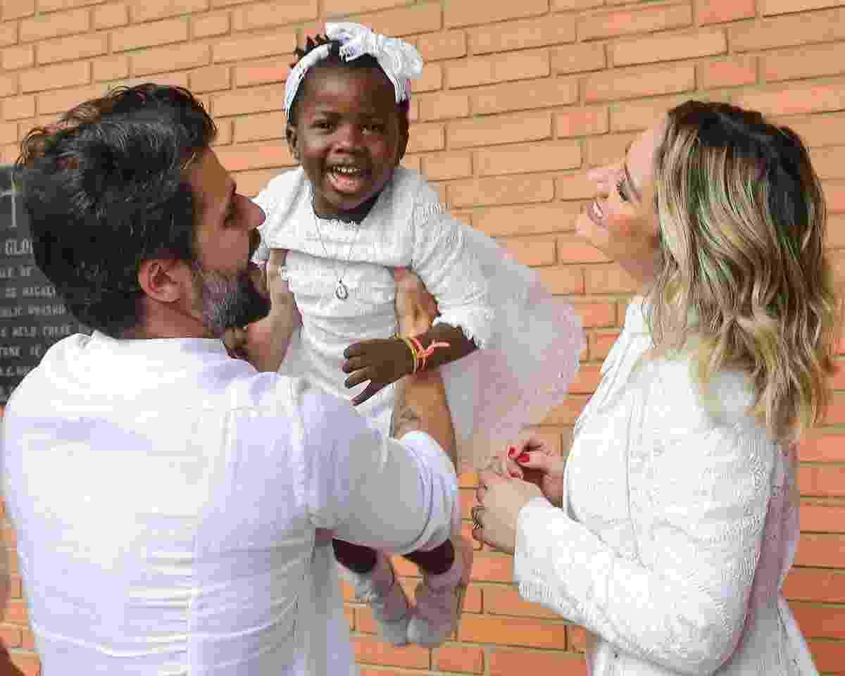 Bruno Gagliasso, Titi e Giovanna Ewbank - Manu Scarpa/BrazilNews