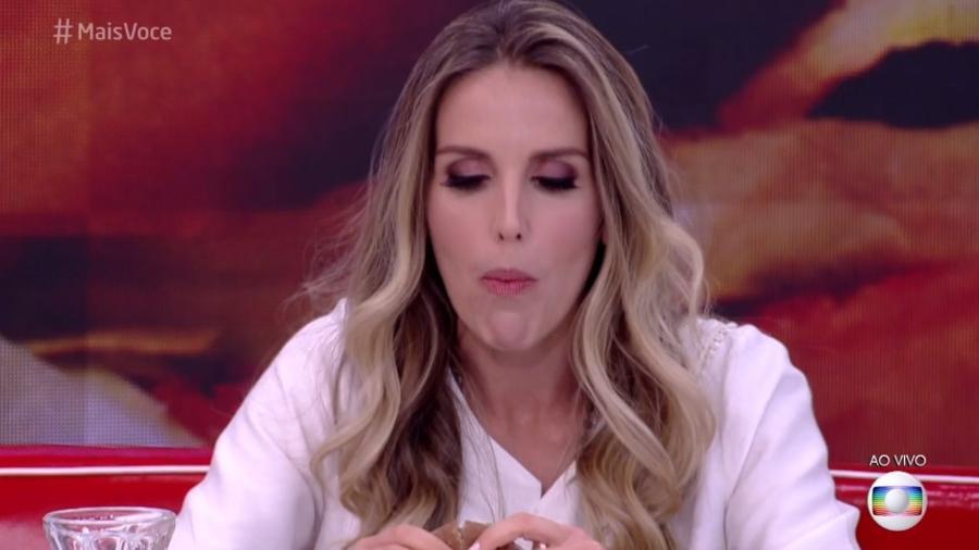 """Mariana Ferrão no """"Mais Você"""" - Reprodução/Globo"""