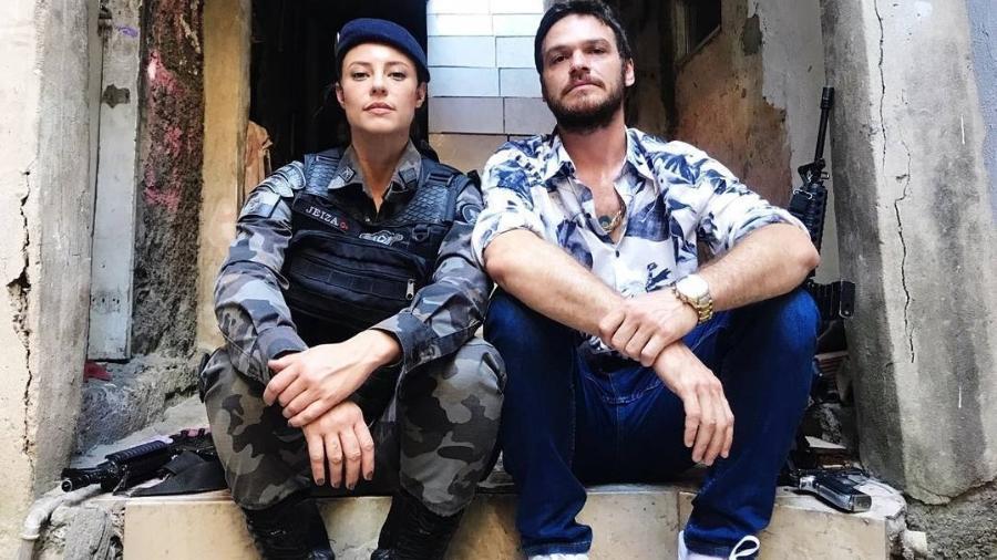 Paolla Oliveira (Jeiza) e Emílio Dantas (Rubinho) - Reprodução/Instagram