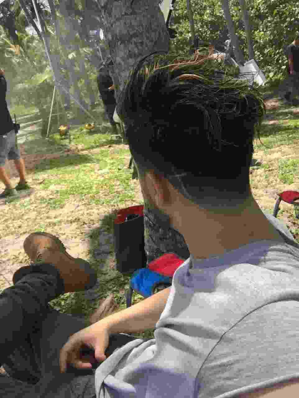 De novo visual, Luan Santana grava clipe na Colômbia - Divulgação