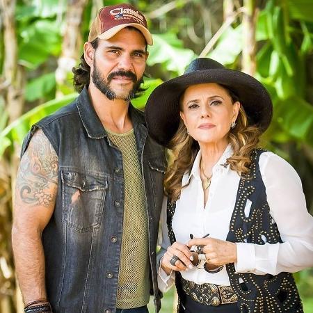 Mariano (Juliano Cazarré) e Sophia (Marieta Severo) - Reprodução/Instagram