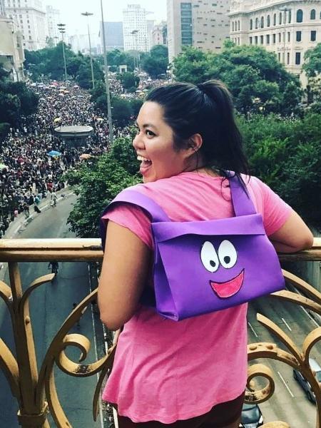 Camila Arima criou planilha com serviços dos blocos e acrescentou comentários engraçados - Arquivo Pessoal
