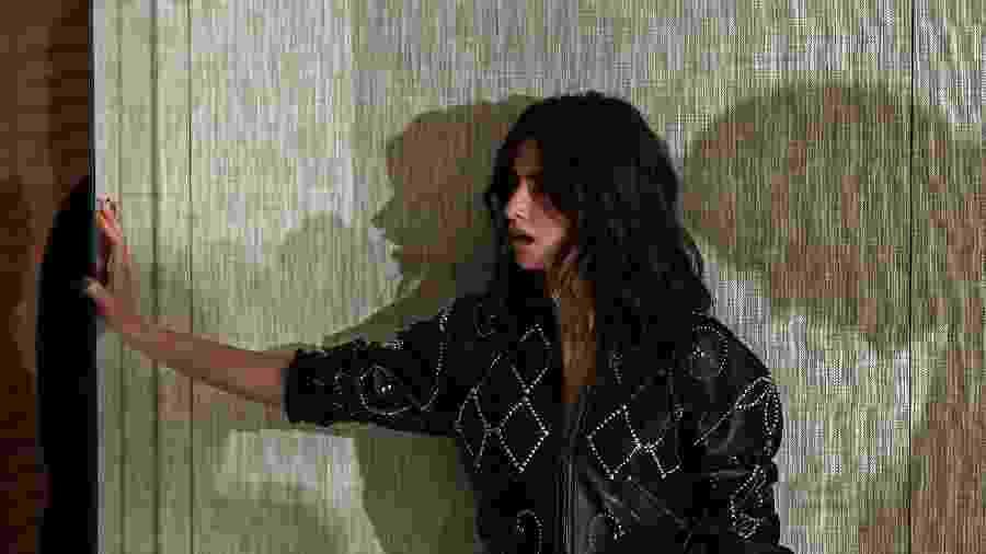 "Penelope Cruz durante sessão especial de ""Amando Pablo"" - Oscar Del Pozo/AFP"
