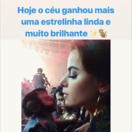 Rayanne Morais homenageia Twelves - Reprodução/Instagram/rayannemorais