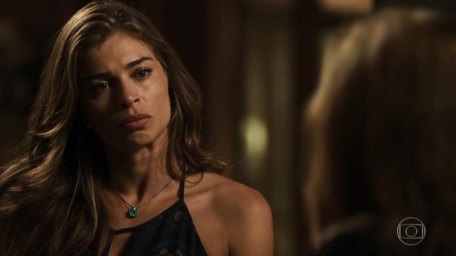 Sophia ironiza a dor da filha de Lívia após ser flagrada com Mariano - Reprodução/Gshow