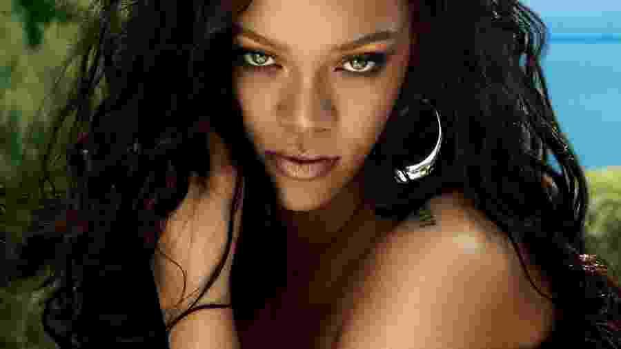 """Rihanna em foto para a revista """"Vogue"""" americana - Divulgação/Vogue"""