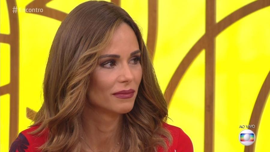 """Ana Furtado se emociona no """"Encontro"""" ao falar sobre câncer na mama - Reprodução/Globo"""
