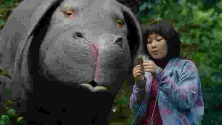 """Cena do filme """"Okja"""", produzido pela Netflix - Reprodução - Reprodução"""