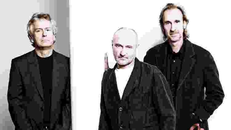 O Genesis reunido em 2007 - Divulgação - Divulgação