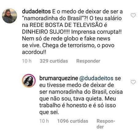 Reprodução/Instagram/@brunamarquezine