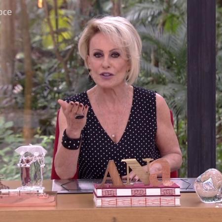 Ana Maria Braga - Reprodução/Globo