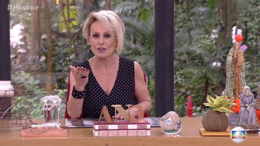 Ana Maria Braga elogiou o jornalista Carlos Heitor Cony no final do programa que foi uma retrospectiva de 2018 - Reprodução/Globo