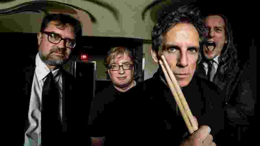 Ben Stiller se reuniu com amigos para retomar sua banda da adolescência - Divulgação
