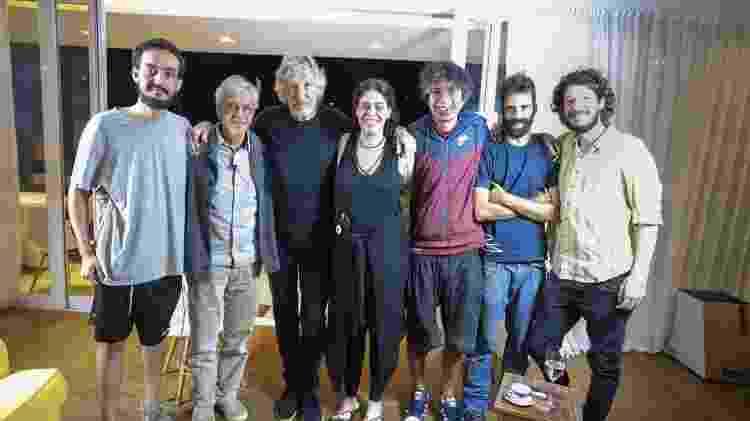 Roger Waters, Caetano Veloso, Paula Lavigne - Divulgação - Divulgação