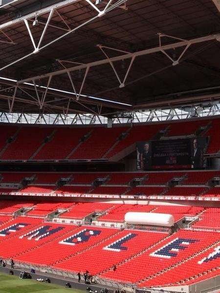 Estádio de Wembley, na Inglaterra - Divulgação/Wembley Stadium