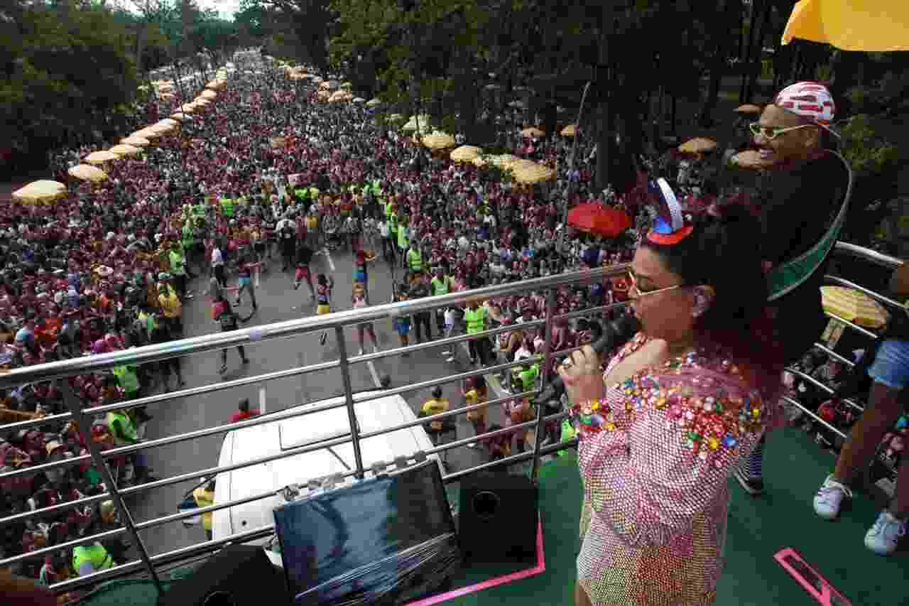 Preta Gil estreia com seu Bloco da Preta no Carnaval de São Paulo, no Parque Ibirapuera - Diego Padgurschi/UOL