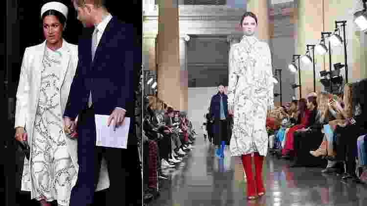 Meghan Markle usa Victoria Beckham em missa - Reuters/Reprodução/Instagram - Reuters/Reprodução/Instagram