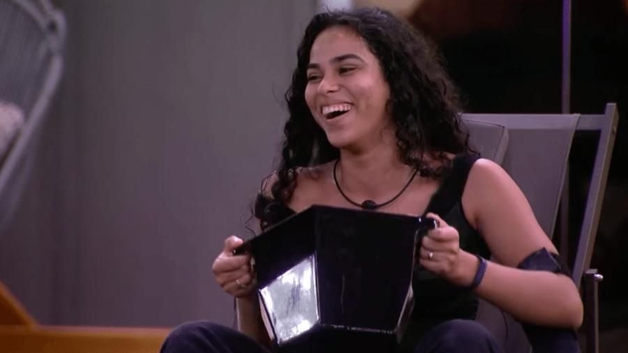 Elana brinca de imitar a voz do Big Boss - Reprodução/GloboPlay