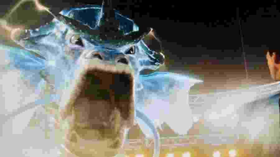 """Gyarados em trailer de """"Detetive Pikachu"""" - Reprodução/Twitter"""