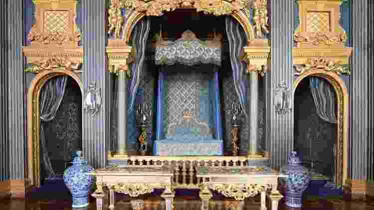 Um quarto 'muito humilde' no palácio sueco de Drottningholm - Getty Images - Getty Images