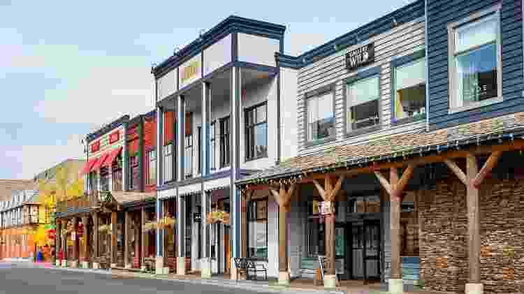 O local escolhido para ser a Área Central de Hawkins, foi a Town Square, situada em Jackson - Getty Images/iStockphoto