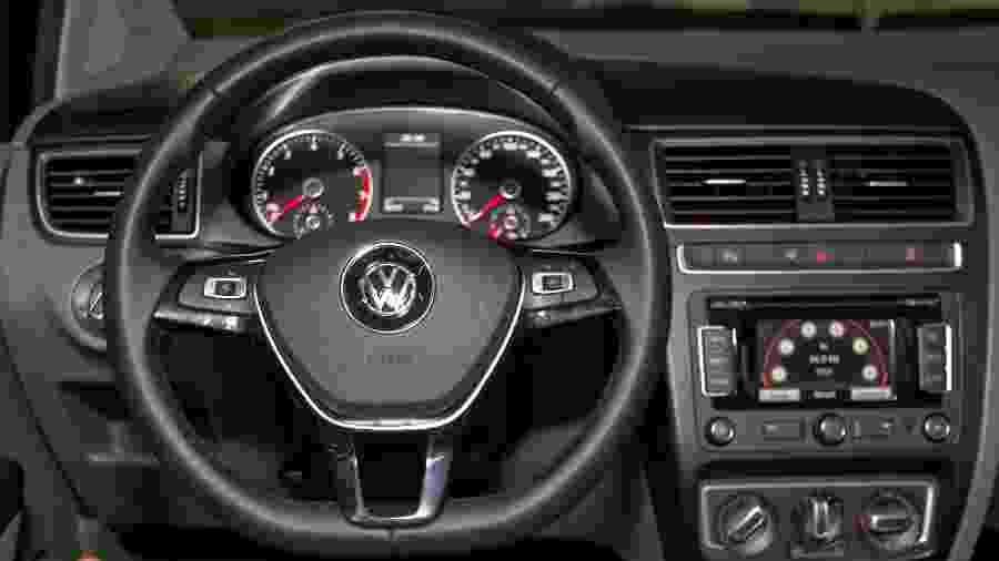 Painel do Volkswagen Fox - Bruno Poletti/Folhapress