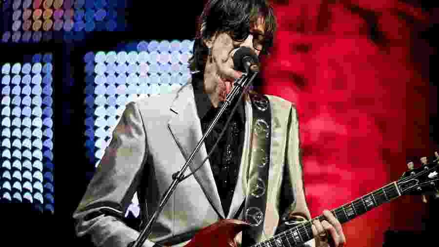Ric Ocasek, da banda The Cars - Chad Batka/The New York Time