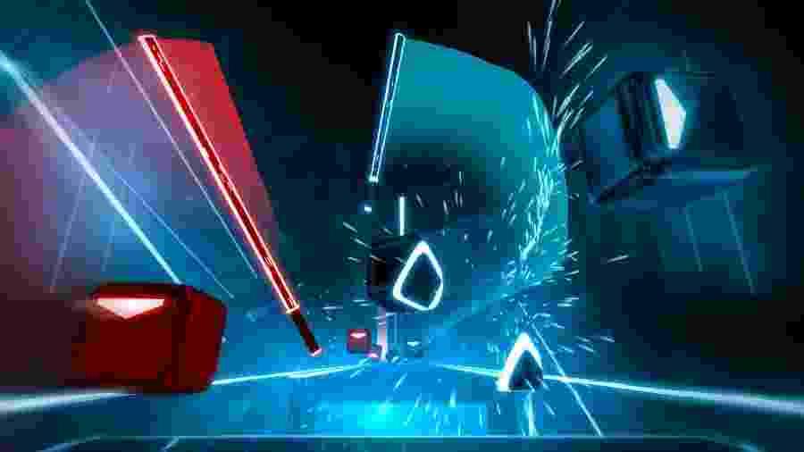 Beat Saber é um dos jogos mais divertidos, e simples, em realidade virtual - Divulgação