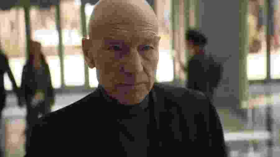 Patrick Stewart em cena da série Star Trek: Picard - Reprodução