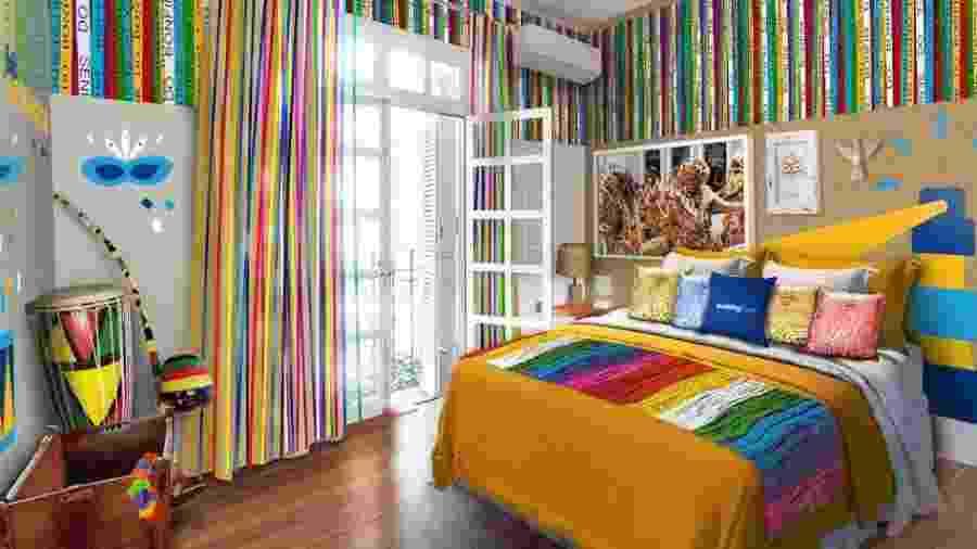 Ambiente da Casa da Fafá de Belém, disponibilizado pela Booking.com - Divulgação