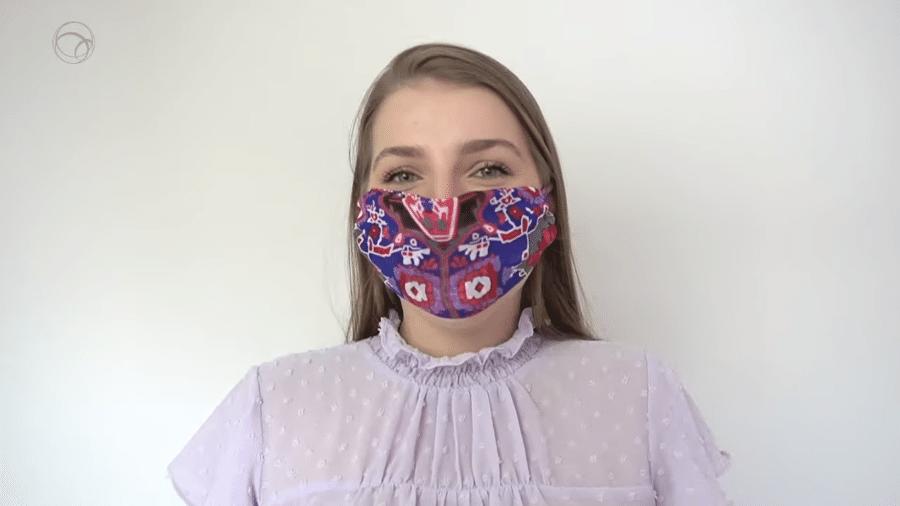 Máscara caseira - UOL