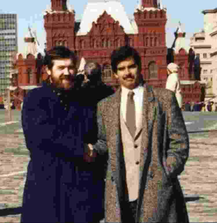 Alexey Pajitnov e Hank Rogers - Reprodução/The Gaming Historian - Reprodução/The Gaming Historian