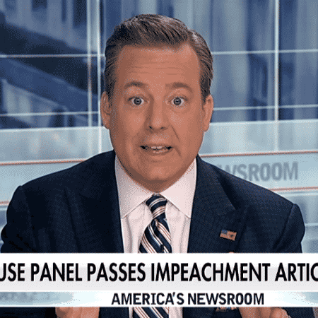 """Ed Henry durante o programa """"America""""s Newsroom"""", da Fow News - Reprodução / Fox News"""