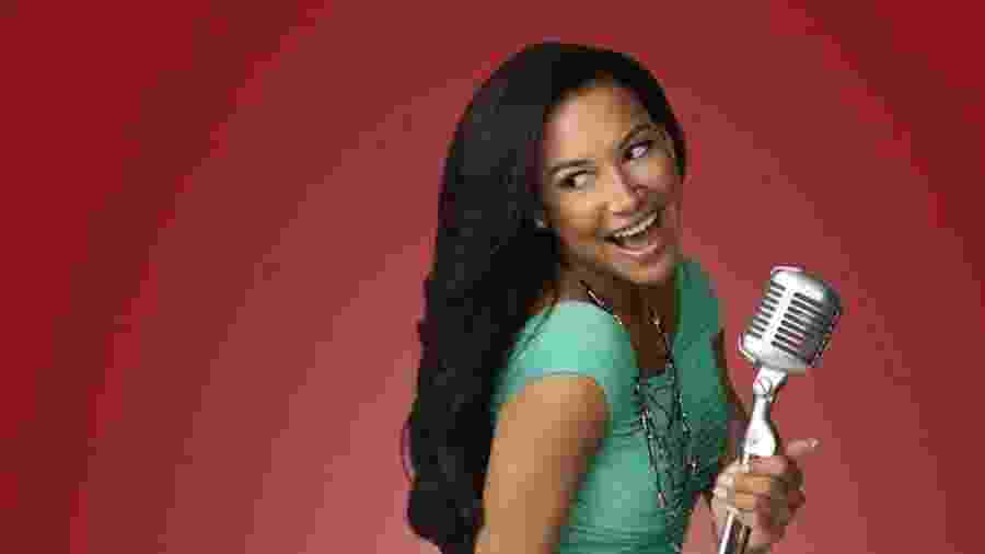 """Naya Rivera como a Santana de """"Glee"""" - Divulgação"""