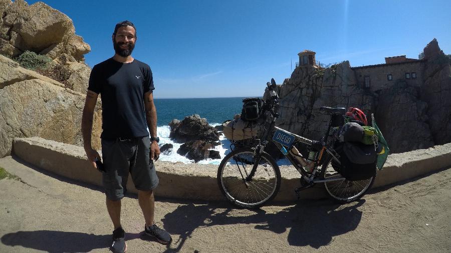 A chegada ao Pacífico, em Valparaíso, depois de 1.939 km, desde o Atlântico, em 27 dias - Acervo pessoal