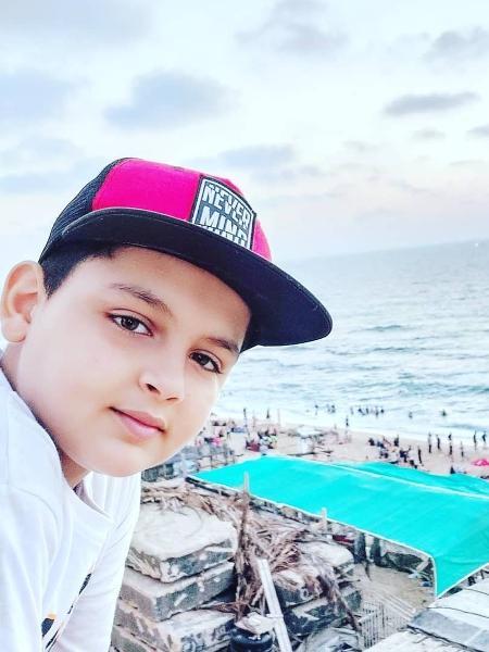 Abdel-Rahman Al-Shantti, rapper de 11 anos que leva realidade de Gaza para o mundo - Reprodução/Instagram