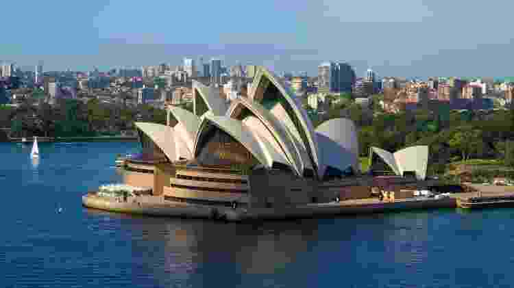 Opera House, em Sidney, na Austrália - Getty Images - Getty Images