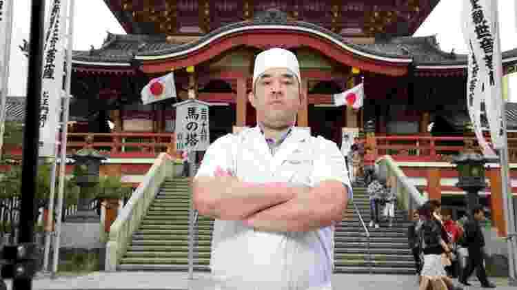 André Nobuyuki Kawai, radicado no Japão desde 1991, recebeu o título de Embaixador do Sushi no Brasil e em Portugal,  - Marcelo Hide/Fotospublicas - Marcelo Hide/Fotospublicas