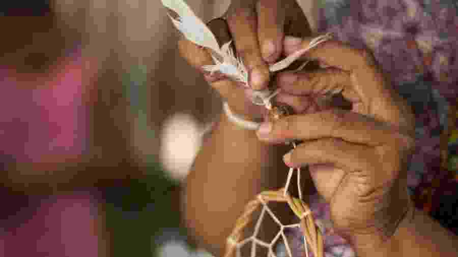 Participante de curso de empreendedorismo para mulheres da Amazônia - Divulgação