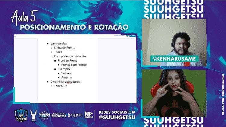 Suuhgetsu Wakanda Streamers - Reprodução/Twitch - Reprodução/Twitch