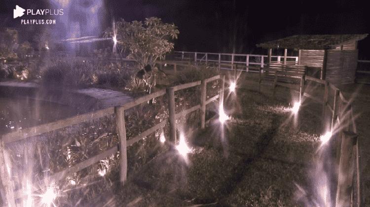 A Fazenda 2020: Câmera do Playplus corta ataque de fúria de Biel - Reprodução/Playplus - Reprodução/Playplus