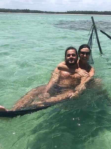 Fátima Bernardes e o namorado Túlio Gadêlha  - Reprodução/Instagram