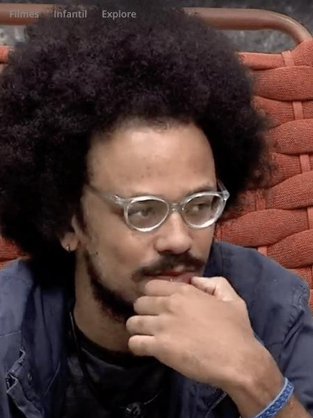 João Luiz, alvo de racismo no BBB21 - Reprodução/Globoplay