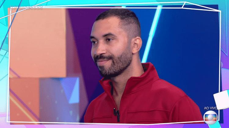 """Gil do Vigor no """"Plantão BBB"""" - Reprodução / TV Globo - Reprodução / TV Globo"""