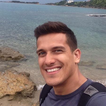 O biólogo Luis Felipe Manvailer, acusado de matar a esposa Tatiane Spitzner. Foto tirada na Grécia, em setembro de 2016  - reprodução Instagram